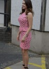Kelly Brook - arrives home after appearing on Lorraine in London -04