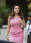 Kelly Brook - arrives home after appearing on Lorraine in London -07