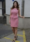 Kelly Brook - arrives home after appearing on Lorraine in London -14