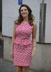Kelly Brook - arrives home after appearing on Lorraine in London -16