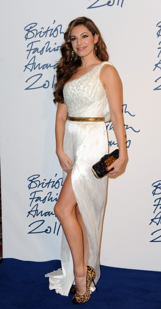 Kelly Brook - Tight Dress at British Fashion Awards 2011 in London-04
