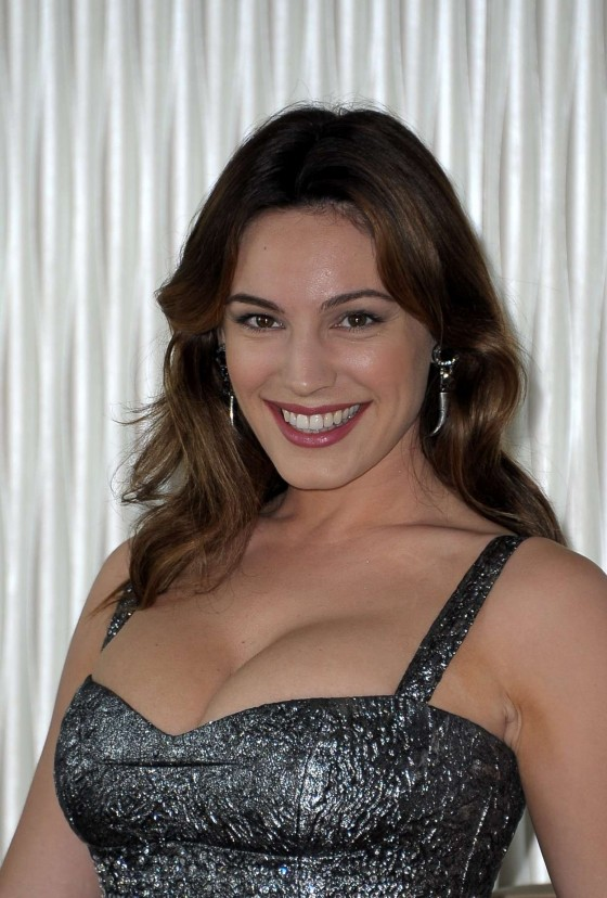 Kelly Brook at Ischia Global Fest photocall in Milan