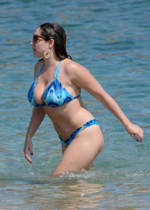 Kelly Brook Hot 85 Bikini Photos -71