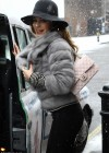 Kelly Brook - Catching a cab in London