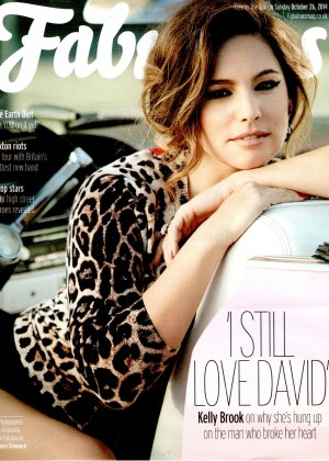 Kelly Brook - Fabulous Magazine (October 2014)