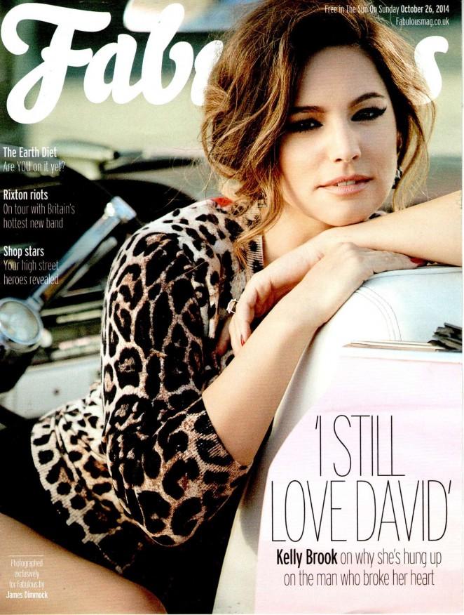 Kelly Brook - Fabulous Magazine (October 2014)