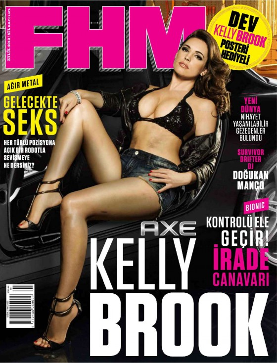 Kelly Brook Pictures: FHM Magazine Turkey - September 2013-04