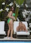 Kelly Brook in Green bikini-07