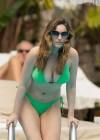 Kelly Brook in Green bikini-12
