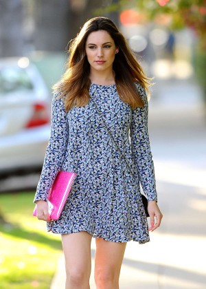 Kelly Brook in Mini Dress -01