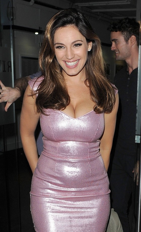 Kelly Brook hot at Riverside Studios in London