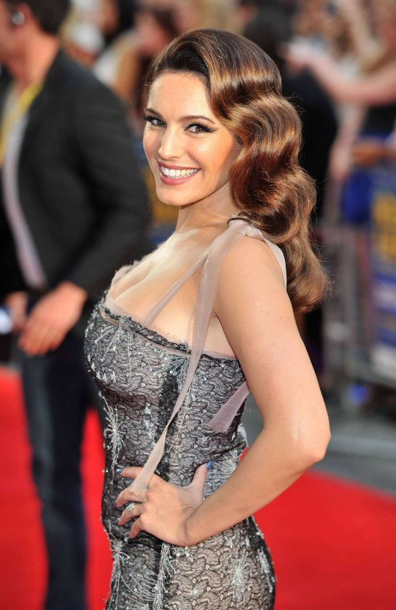 Kelly Brook - Keith Lemon The Film premiere in London