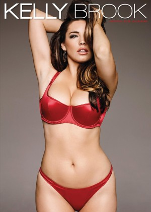 Kelly Brook - Official Calendar Cover 2015