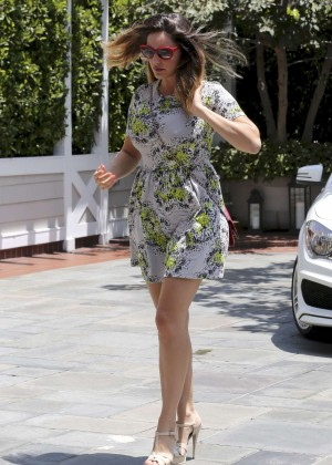 Kelly Brook in Short Dress out in Santa Monica