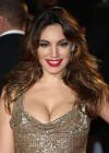 Kelly Brook hot in tight dress at Skyfall Premiere