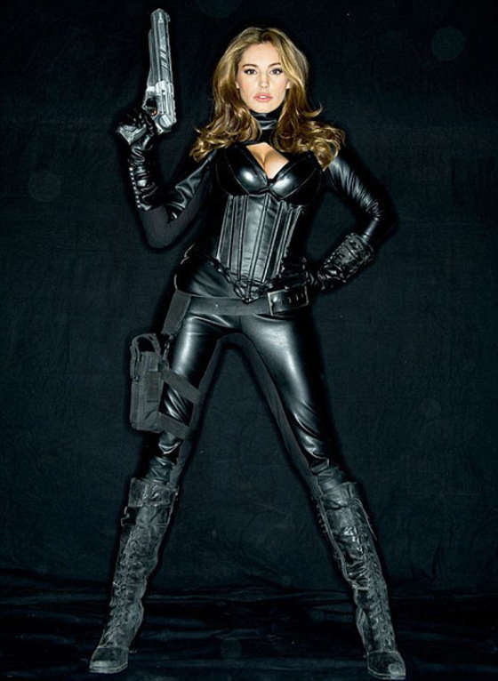 Kelly Brook Promo Poster For Heavy Metal Gotceleb