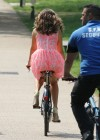 Kelly Brook Hot on Bike-14