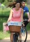 Kelly Brook Hot on Bike-20
