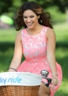 Kelly Brook Hot on Bike-21