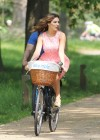 Kelly Brook Hot on Bike-22