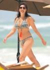 Kelly Brook Shows Bikini body in Greece -10