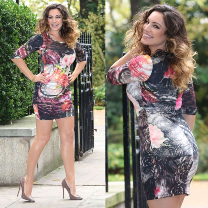 Kelly Brook - Simply Be Fashion Collection at The Savoy Hotel in London