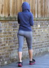 Kelly Brook Spandex Candids out ans about in London