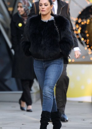 Kelly Brook in Tight Jeans out in London