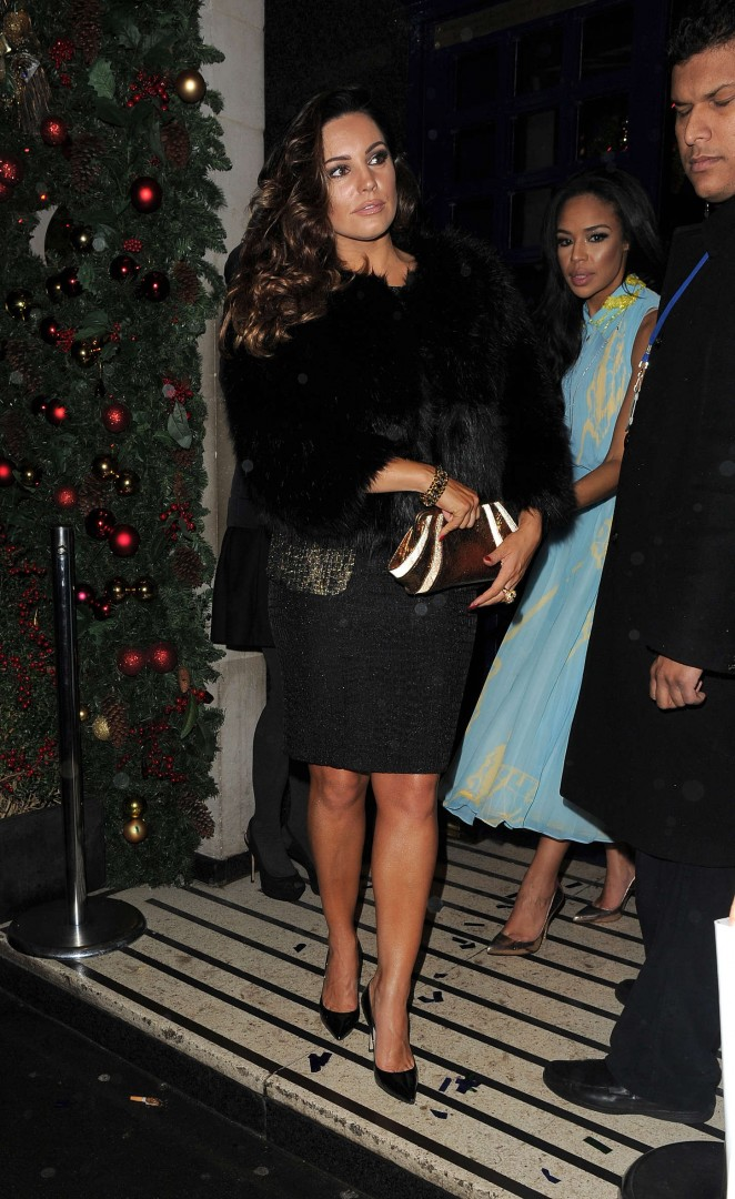 Kelly Brook - Sunday Times Style Xmas Party in London