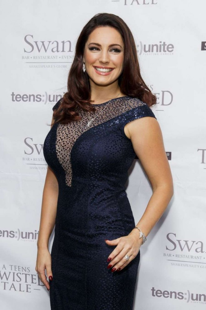 Kelly Brook - Teens Unite Charity Ball 2014 in London