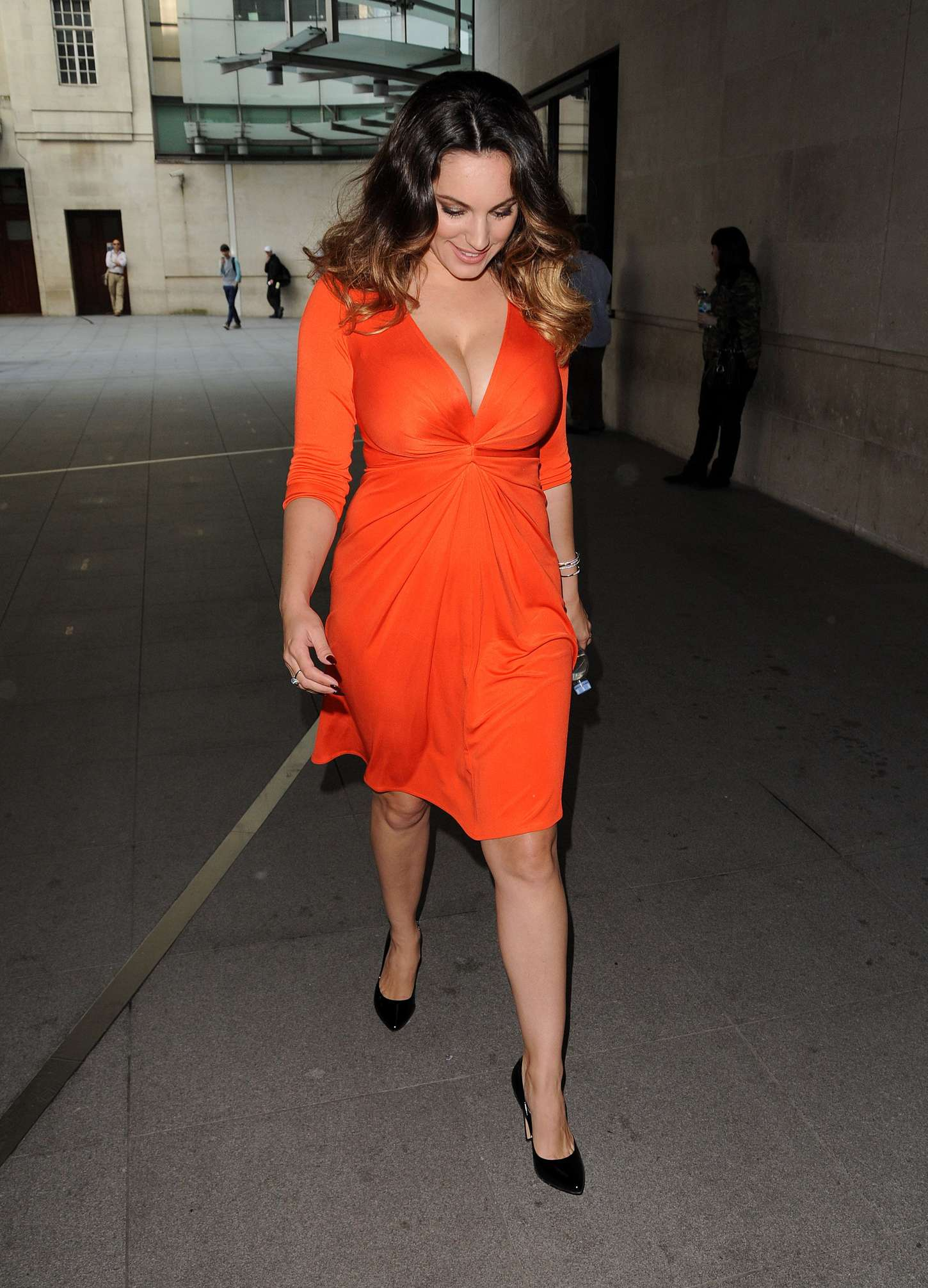 Kelly Brook In Red Dress 04 GotCeleb