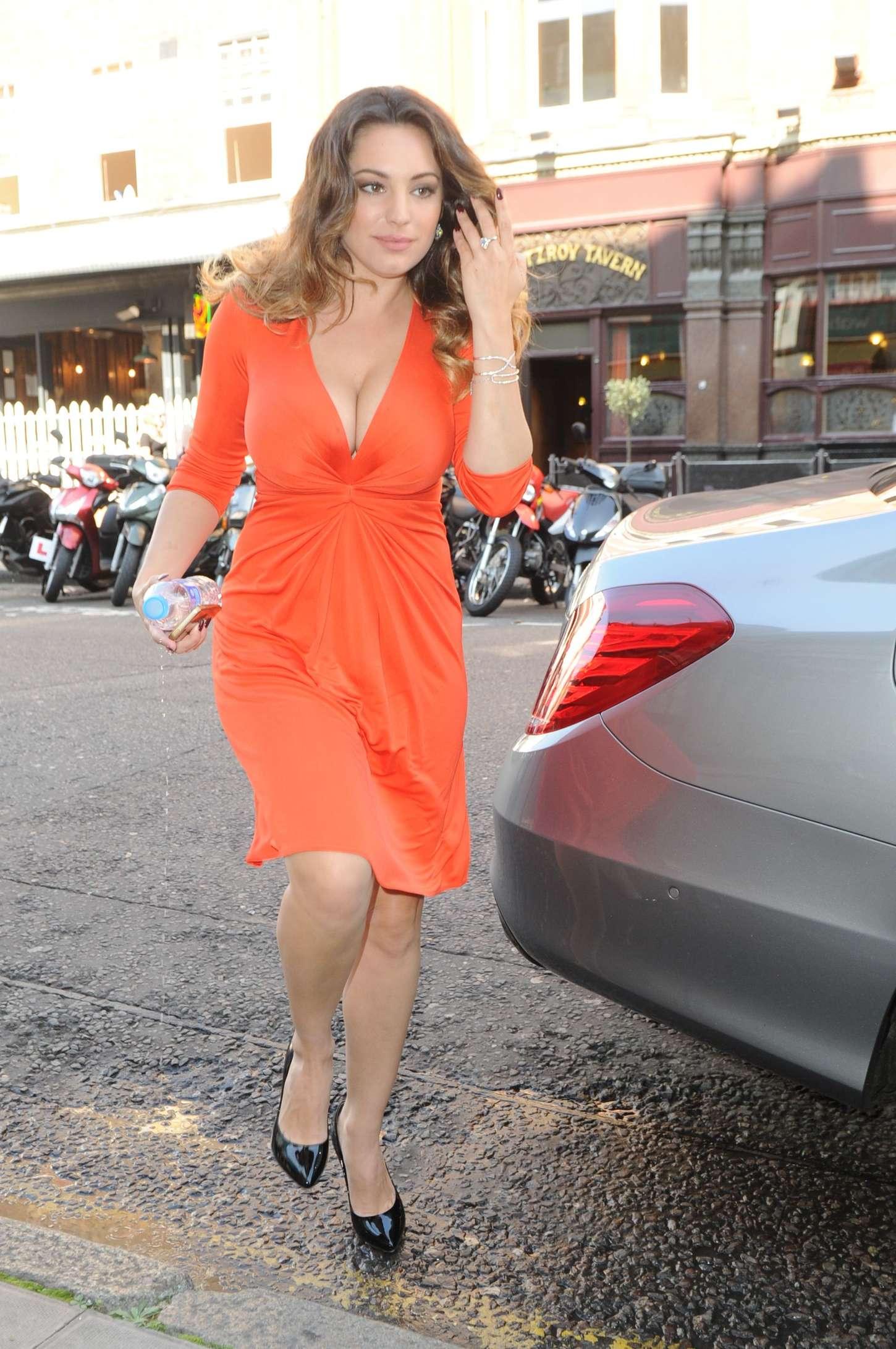 Kelly Brook 2014 : Kelly Brook in Red Dress -09