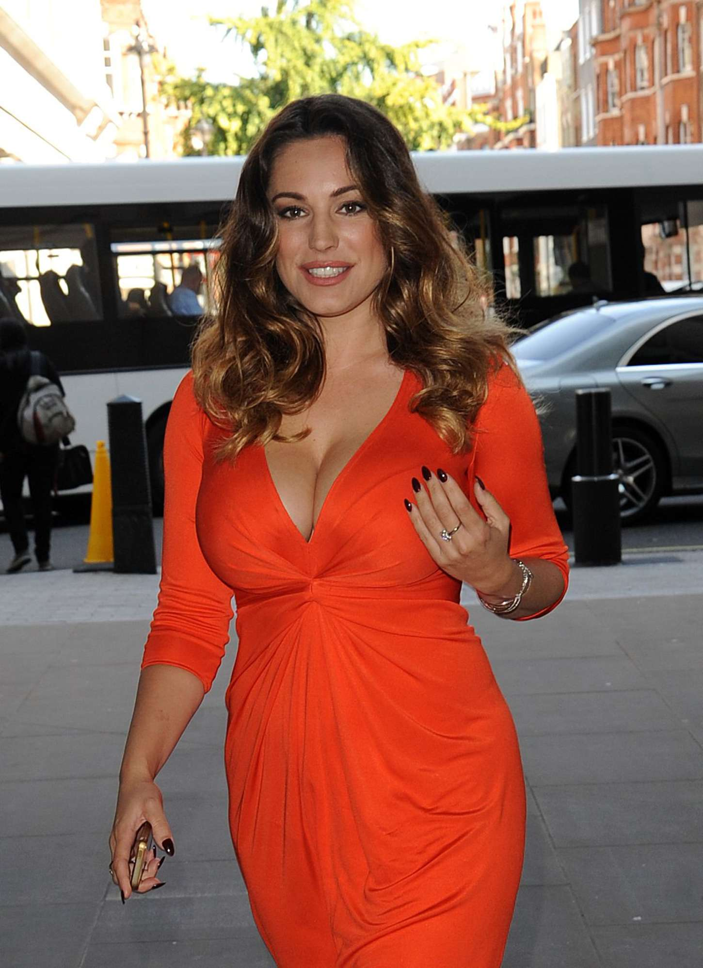 Kelly Brook 2014 : Kelly Brook in Red Dress -18