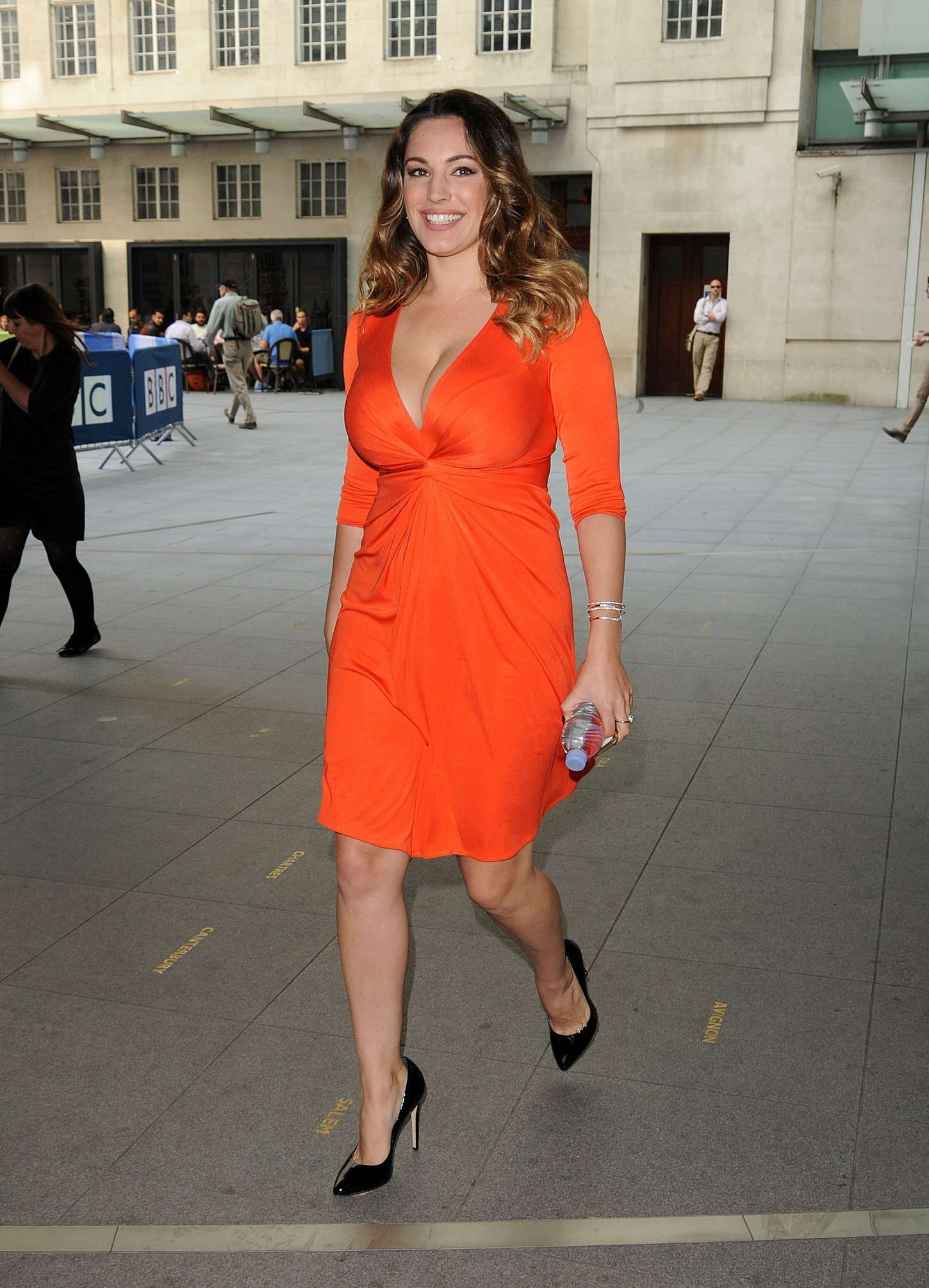 Kelly Brook 2014 : Kelly Brook in Red Dress -19