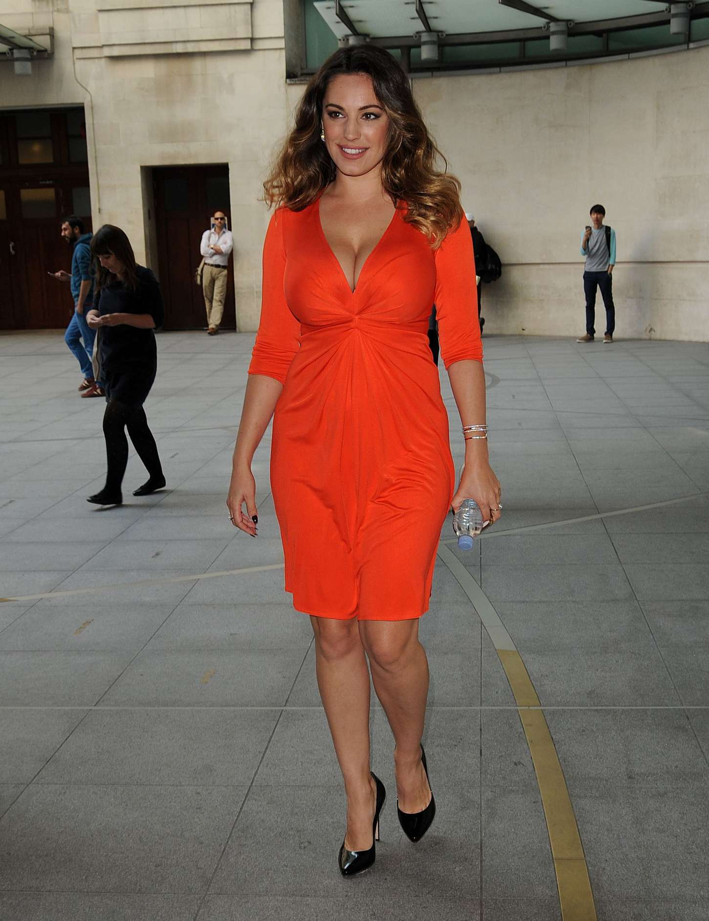 Kelly Brook 2014 : Kelly Brook in Red Dress -20