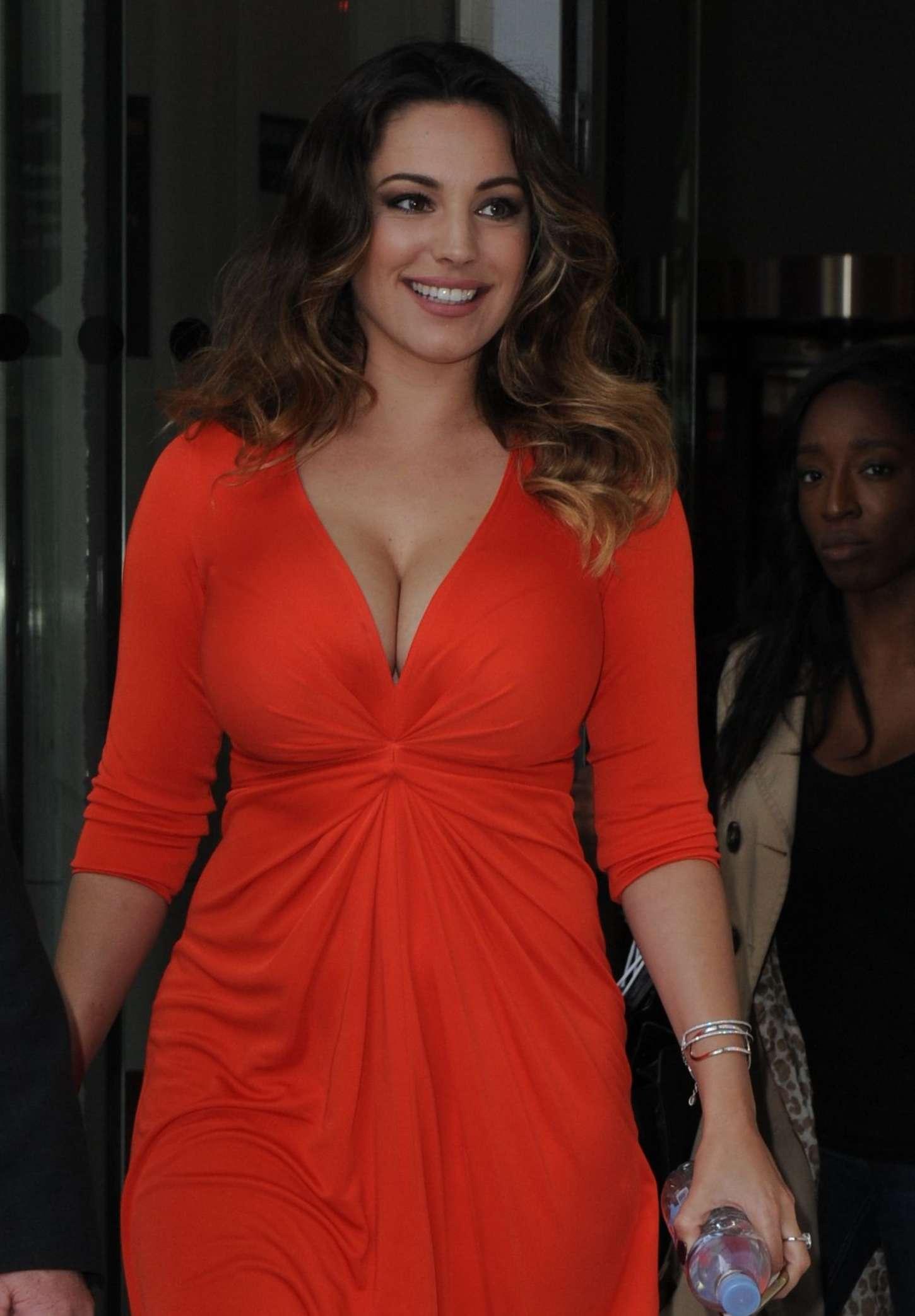 Kelly Brook 2014 : Kelly Brook in Red Dress -25