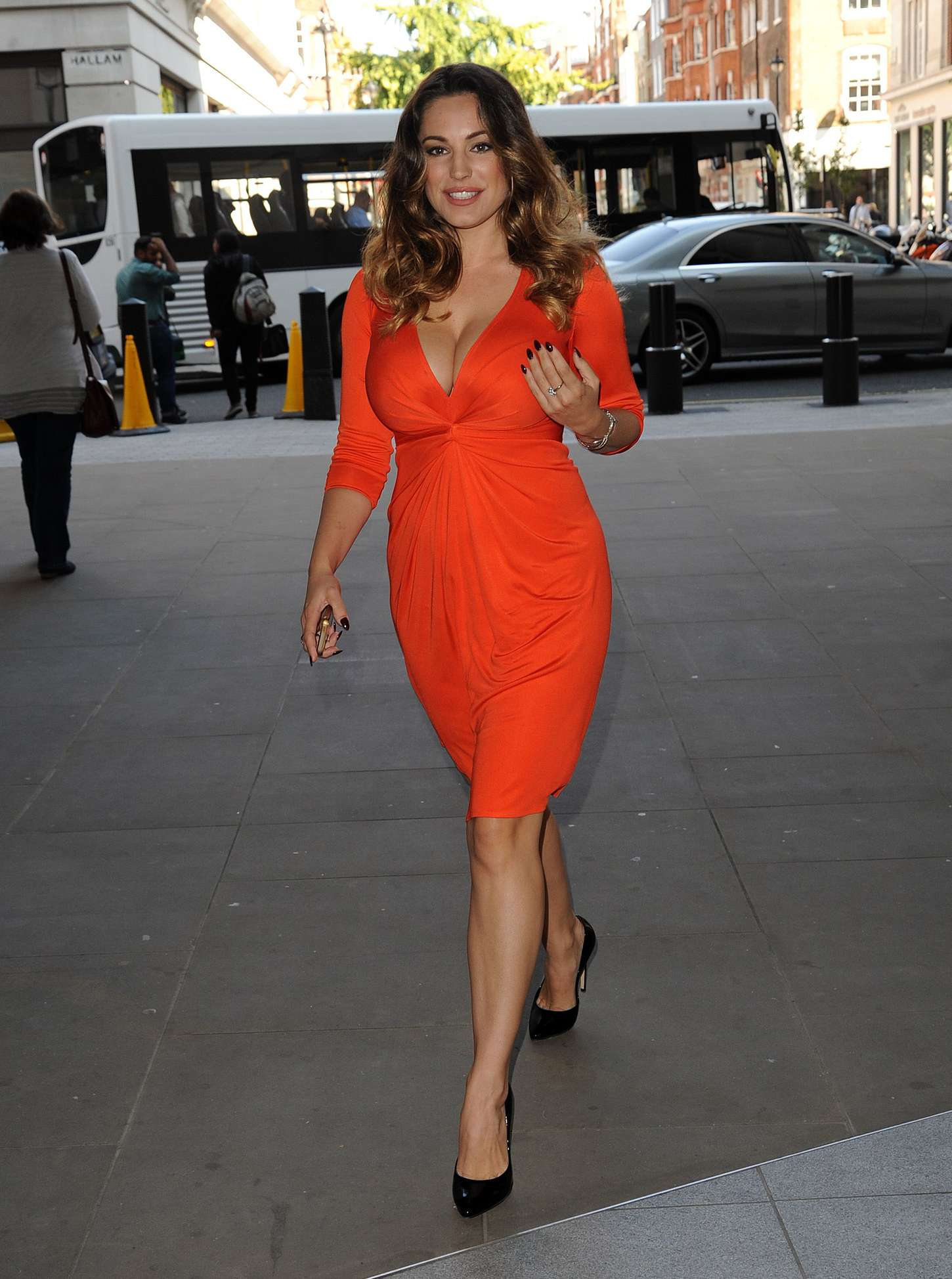 Kelly Brook 2014 : Kelly Brook in Red Dress -26