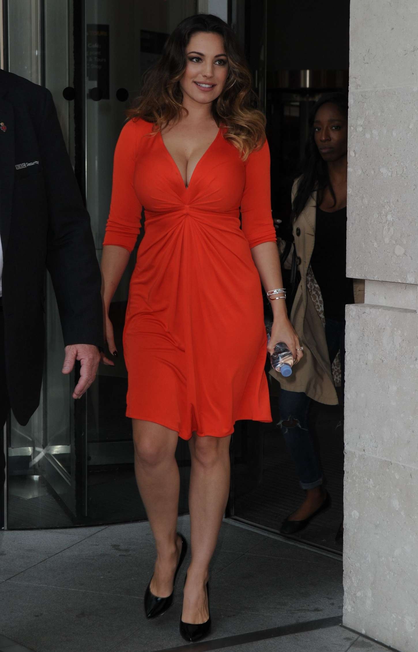 Kelly Brook 2014 : Kelly Brook in Red Dress -33