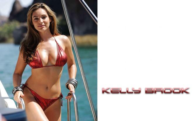 Kelly Brook - Bikini Wallpapers