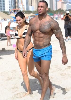 Kelly Brook Hot Bikini Photos: 2014 in Miami -06