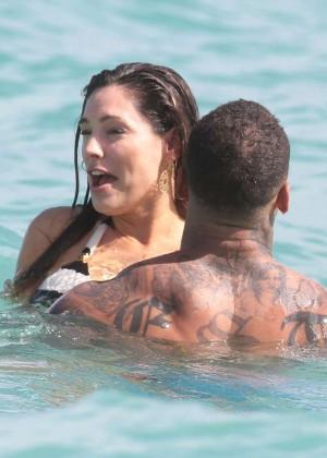 Kelly Brook Hot Bikini Photos: 2014 in Miami -17
