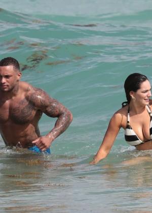 Kelly Brook Hot Bikini Photos: 2014 in Miami -19