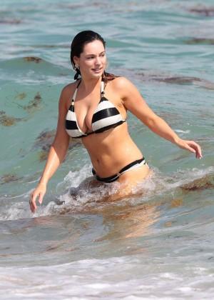 Kelly Brook Hot Bikini Photos: 2014 in Miami -23