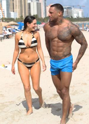 Kelly Brook Hot Bikini Photos: 2014 in Miami -55