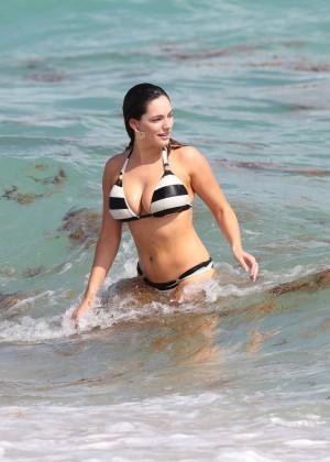 Kelly Brook Hot Bikini Photos: 2014 in Miami -58