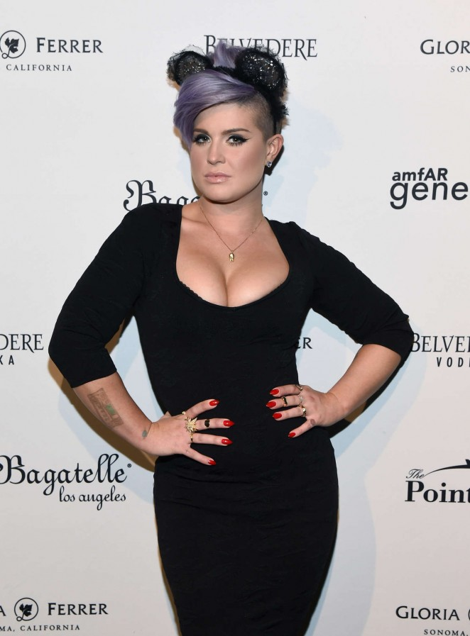 Kelly Osbourne - 2014 amfAR LA Inspiration Gala in Hollywood