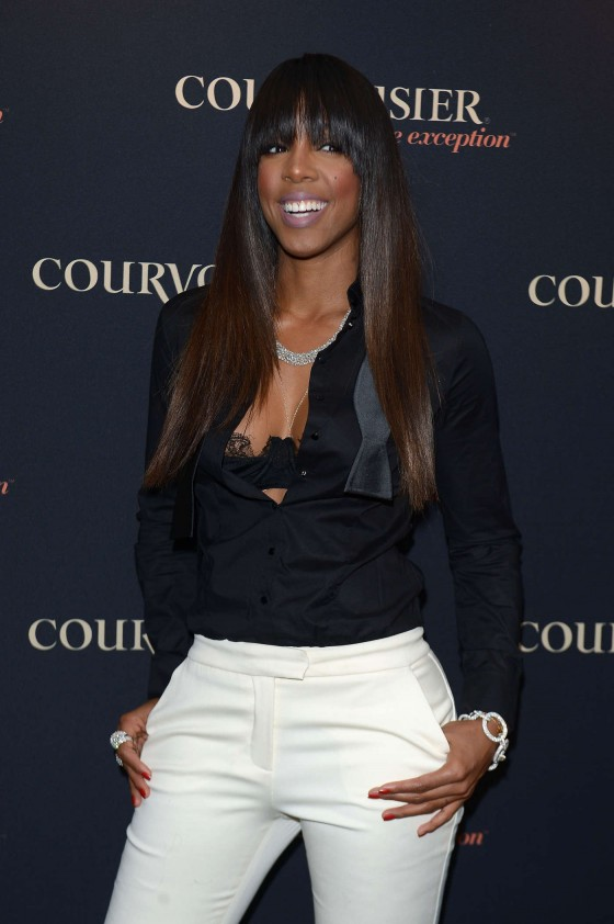 Kelly Rowland at Courvoisiology Lab Launch in New York -07