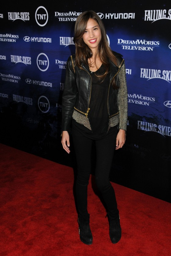 Kelsey Chow – Falling Skies Premiere in West Hollywood-06