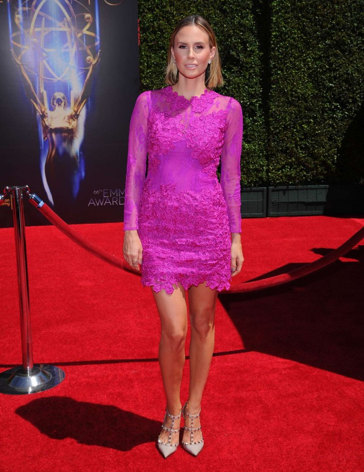 Keltie Knight - Creative Arts Emmy Awards 2014