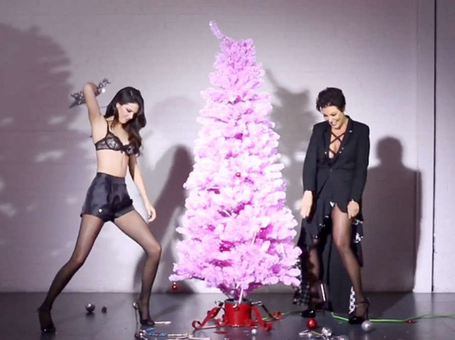 Kendall And Kris Jenner in Love Magazine Advent Calendar